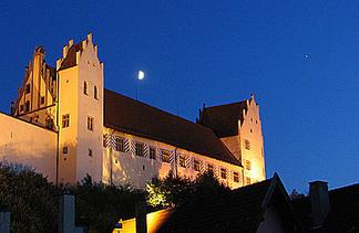 Das Hohe Schloss mit Staatsgalerie und Museum