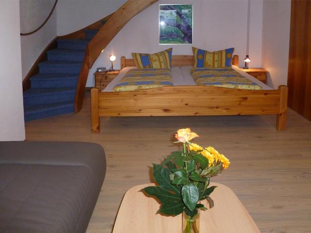 Camera di letto nel sotto piano